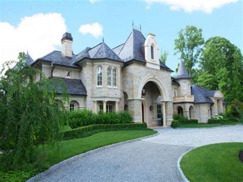 chateau homes estate of the day 14 5 million chateau in alpine new jersey