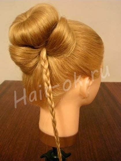 braided hairstyles bow cool creativity diy braided bow hairstyle