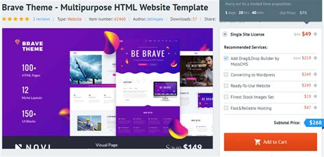 Add Motocms Drag And Drop Website Builder To Html5 Themes Drag And Drop Website Templates