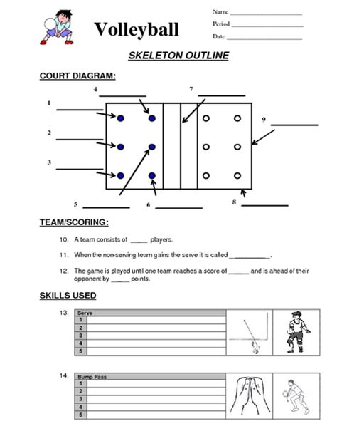 free printable volleyball word search volleyball worksheets for physical education geersc