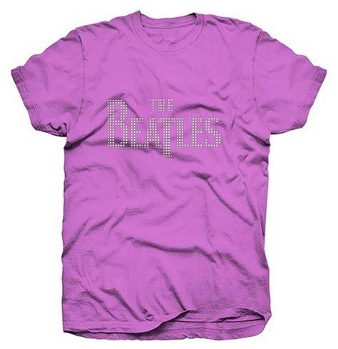 violetas el alamein camiseta beatles de mulher drop t logo por apenas r 76 85