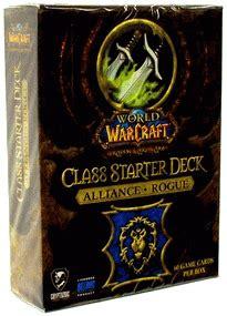 Rogue Starter Deck by Alliance Rogue Class Starter Deck World Of Warcraft Tcg