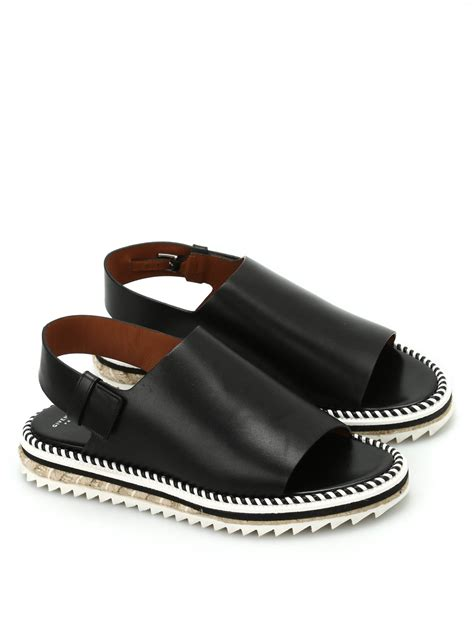 rocket sandals rocket leather and rope sandals by givenchy sandals ikrix