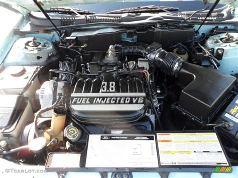 3 8 ford engine 1995 ford taurus gl sedan 3 8 liter ohv 12 valve v6 engine