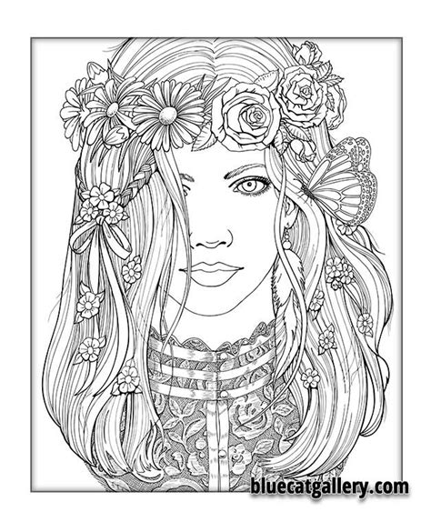 coloring pages for adults victorian color me beautiful women of the world coloring book