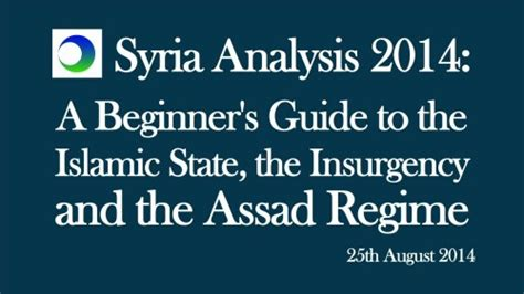 syria analysis beginner s guide to the islamic