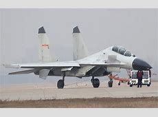 China's main fighter aircrafts/bombers for ADIZ J11 Fighter