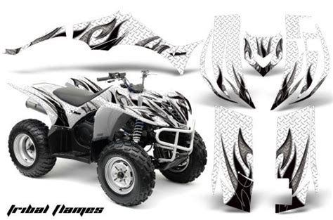 Yamaha Quad Sticker Kits by Yamaha Wolverine Quad Graphic Sticker Decal Kit For Atv