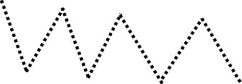 zigzag tracing pattern pre school tracing page zig zag