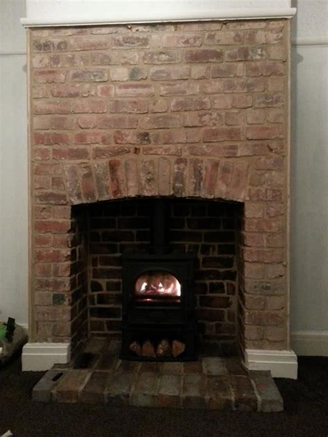 best 25 exposed brick fireplaces ideas on