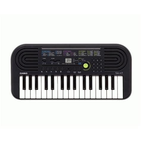 Keyboard Casio Sa 47 casio sa 47 mini keyboard einsteiger anf 196 nger 32 tasten