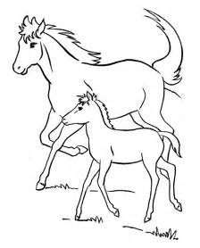 coloring pages of horses and foals running coloring pages coloring home