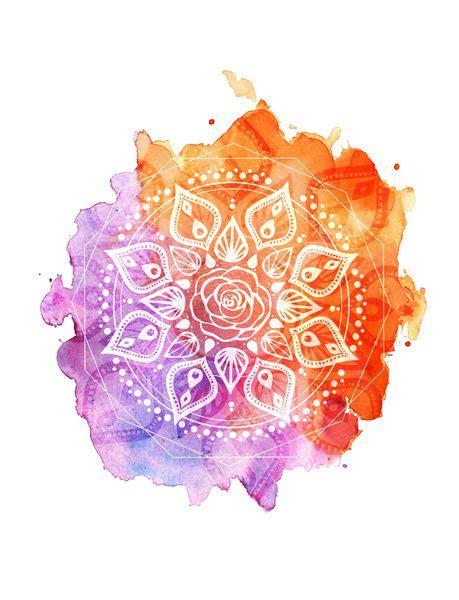Zentangle Design by Best 20 Watercolor Mandala Ideas On Pinterest