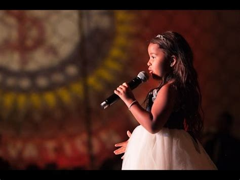 7 year old impersonates taylor swift and sings you belong with me heavenly joy jerkins sings war full version 3 44 on p