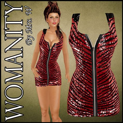 Mini Dress Mrs womanity by mrs w 245 womanity 6 tequilas zip up