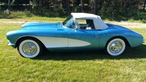 car owners manuals for sale 1957 chevrolet corvette auto manual 1957 chevy corvette convertible 283 283hp 4 speed manual blue white soft top for sale