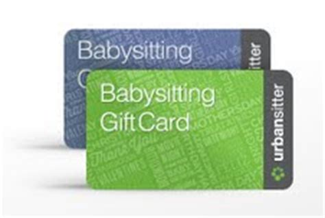 Babysitting Gift Card - mother s day gifts for you and yours urbansitter