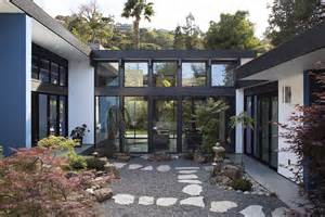 Residential Atrium Design by Modern Atrium House Residential Architect Klopf