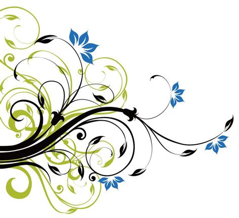 design background swirl swirl floral decoration background vector graphic free