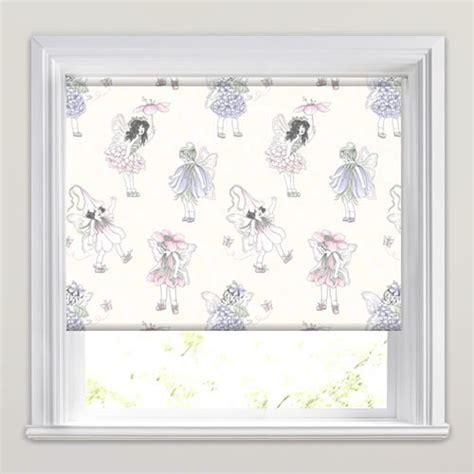 patterned blackout blinds bedroom luxury flowers fairies patterned blackout roller blinds