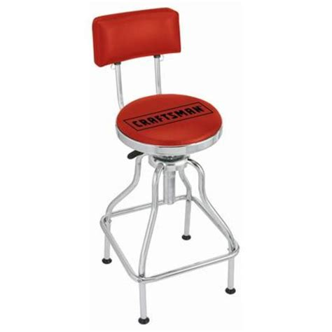 Garage Stools With Logos by Craftsman Adjustable Hydraulic Seat