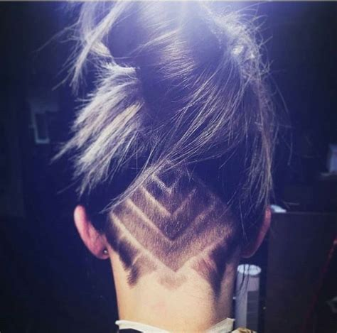 what are the names those designs in haircut undercut design vanity thy name is woman pinterest