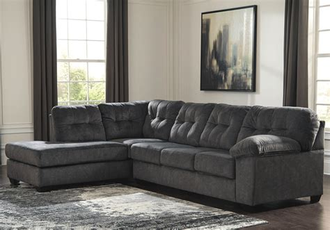 2pc sectional sofa accrington granite 2pc raf sofa sectional lexington