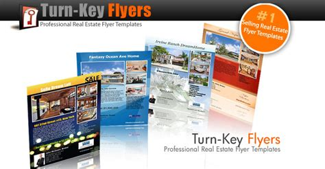 turnkey templates do you cringe when creating real estate flyers i do