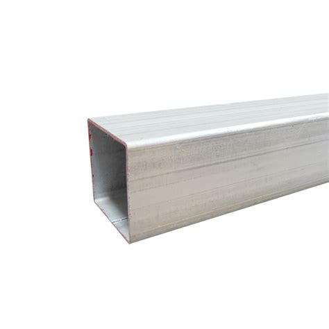 100 x 50 aluminium box section steel posts available from bunnings warehouse