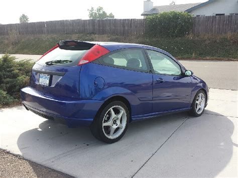 2002 Ford Focus Zx3 by 2002 Ford Focus Zx3 Svt In Valley Palm