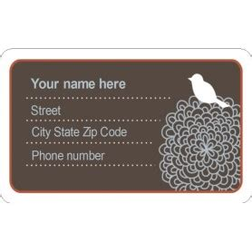 avery laminated id cards template templates luggage tag with bird on id badge 3 per sheet