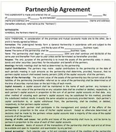 Llc Partnership Agreement Template Free Partnership Agreement Template Microsoft Word Templates