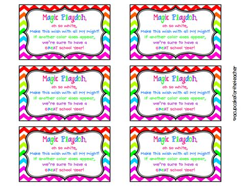 playdough templates magic playdough poem it used to be at the bottom of
