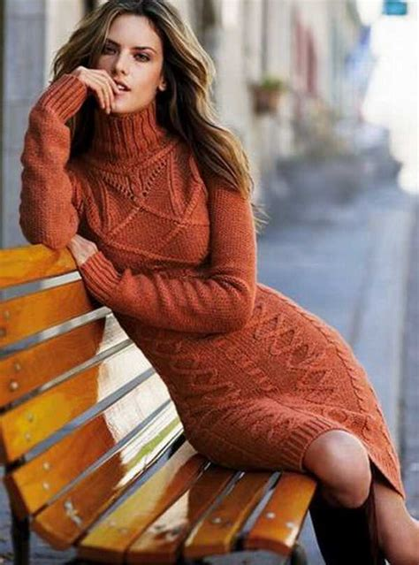 knitted winter dress 25 warm and cozy knitted dresses for winter 2016