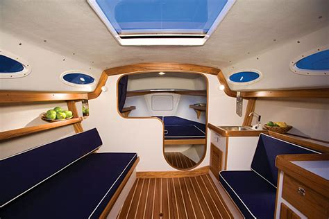 Modern Yacht Interior Design Ideas Alerion Express 28 Anniversary Edition New Boating Fishing