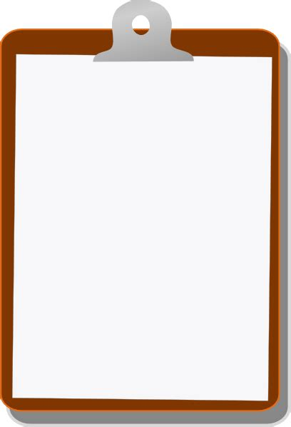 Clipboard Clipart by Clipboard Clip At Clker Vector Clip