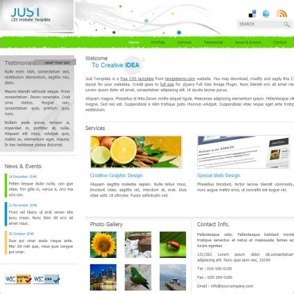 just free website templates in css html js format for free 502 94kb