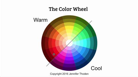 warm colors vs cool colors color theory warm blue vs cool blue