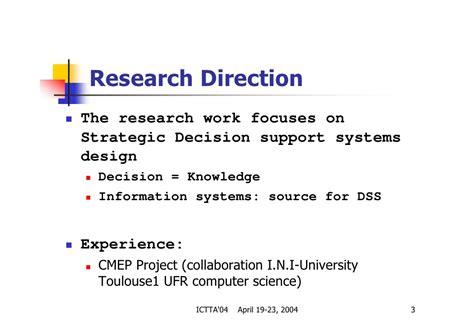 design expert historical data strategic decision support systems design integration