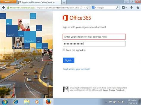 Office 365 Portal Student Web Help Desk