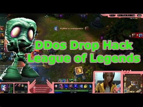 tutorial drop hack league of legends lol ddos videolike