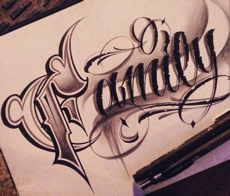 tattoo lettering artists chicano lettering pinteres
