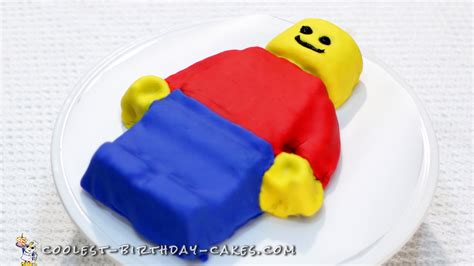 tutorial lego man easy lego man cake tutorial
