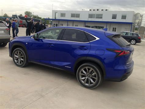 blue lexus nx nx colors clublexus lexus forum discussion