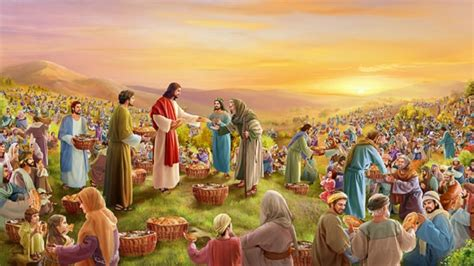 Attractive Christian Family Church #2: 5-Loaves-and-2-Fish-Jesus-Feeds-the-5000.jpg