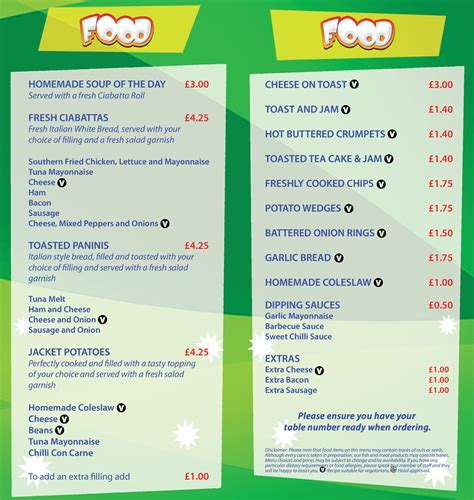 dinner menu for adults bistro play centre bistro manchester oldham bury