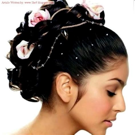hairstyles for walima party indian pakistani wedding bridal best hairstyles 2015 for