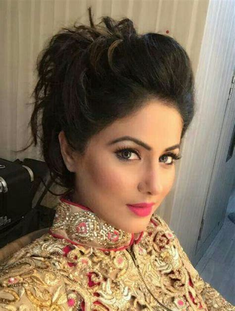 Akshara Hair Stule | hina khan akshara makeup and skin care pinterest