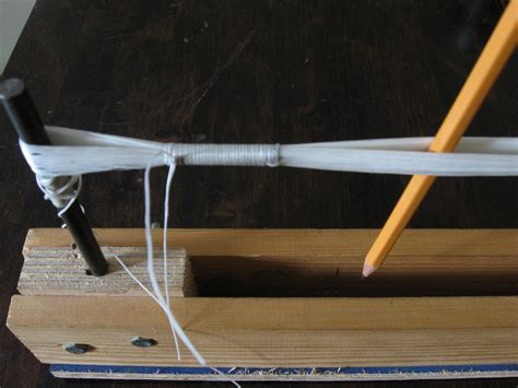 How To Make String On Wood - reinforced endless loop strings crossbow building