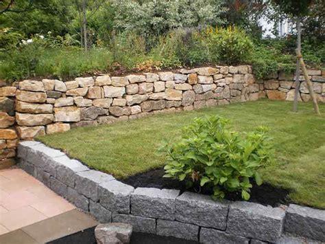 natursteinmauer garten garten mit natursteinmauer garten mit natursteinmauer